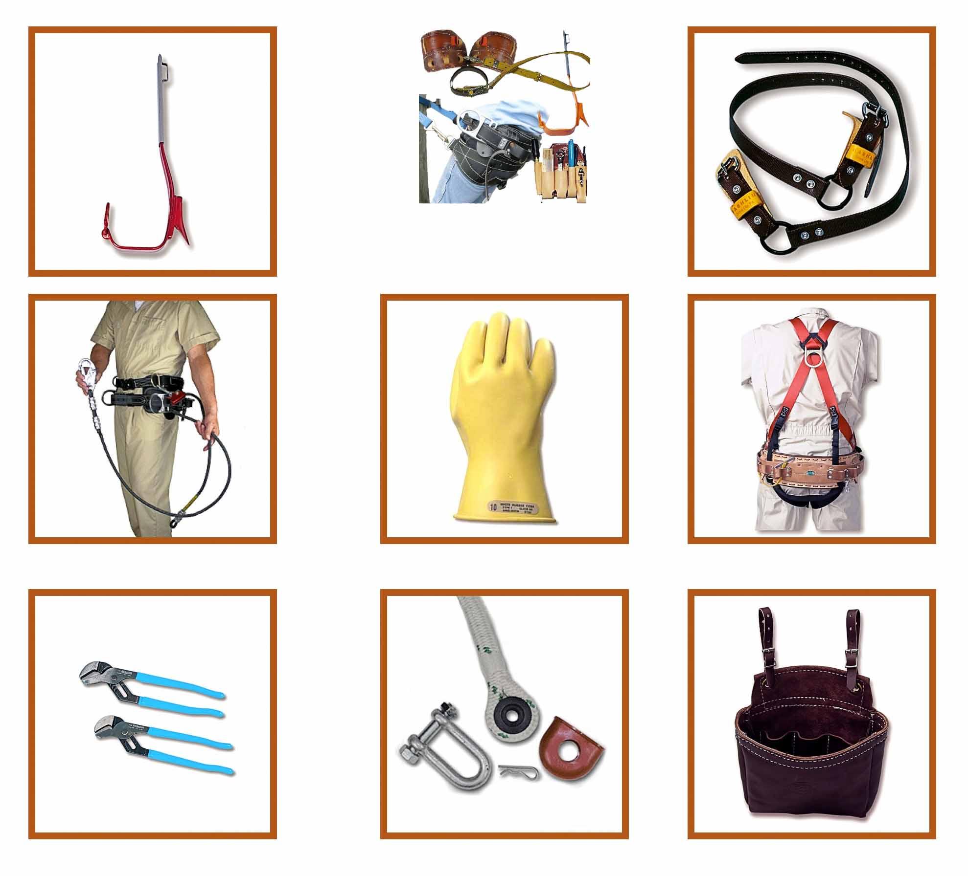 Bashlin Linesman's Tools