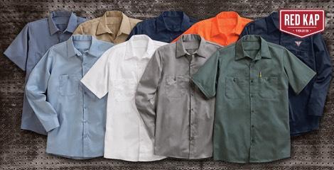 Red Kap Workwear Apparel