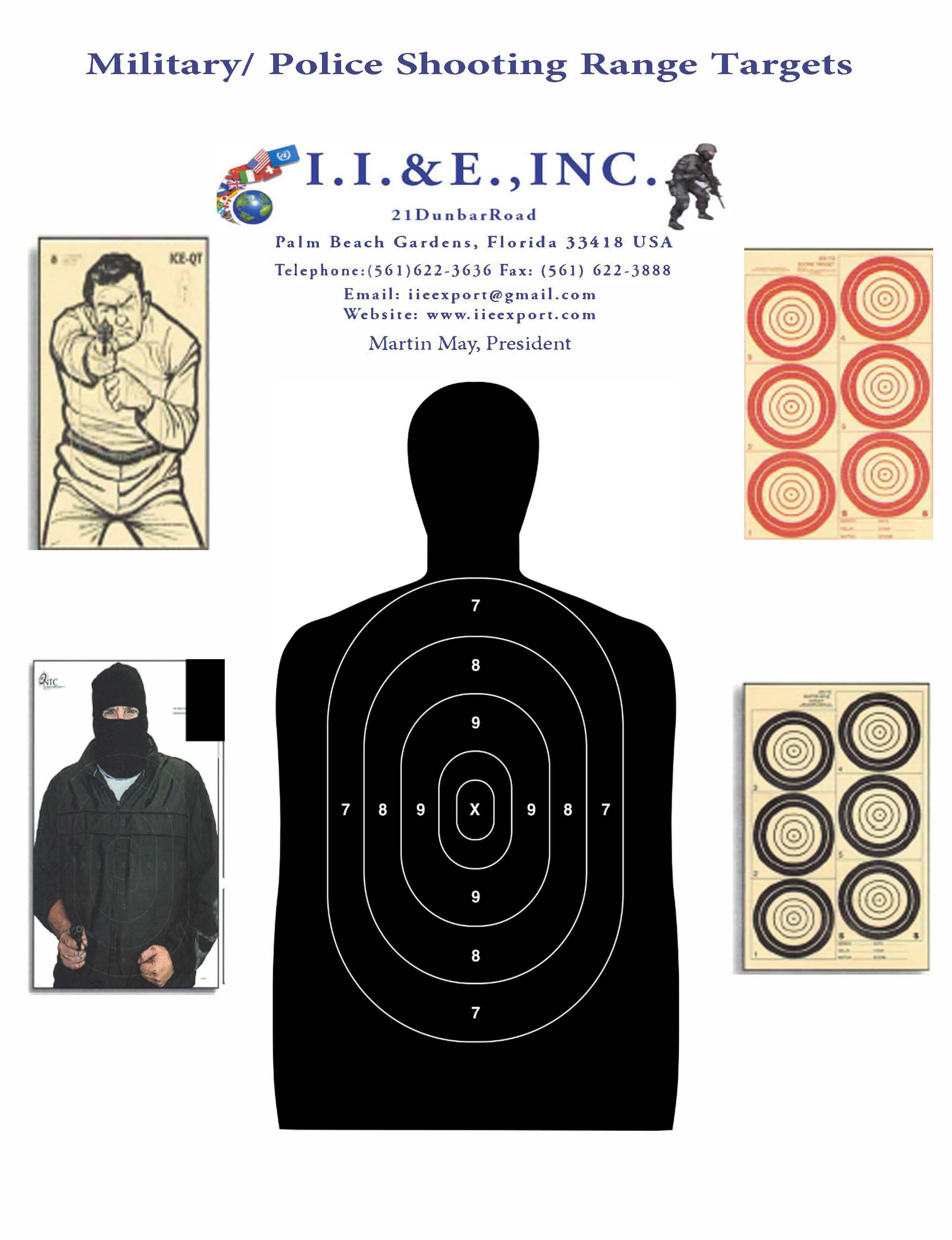 Shooting Range Targets