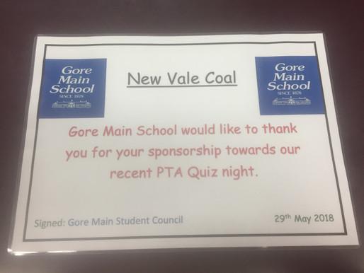 Gore Main School Say Thanks