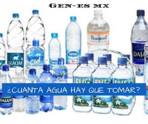 Cuanta agua hay que tomar al dia