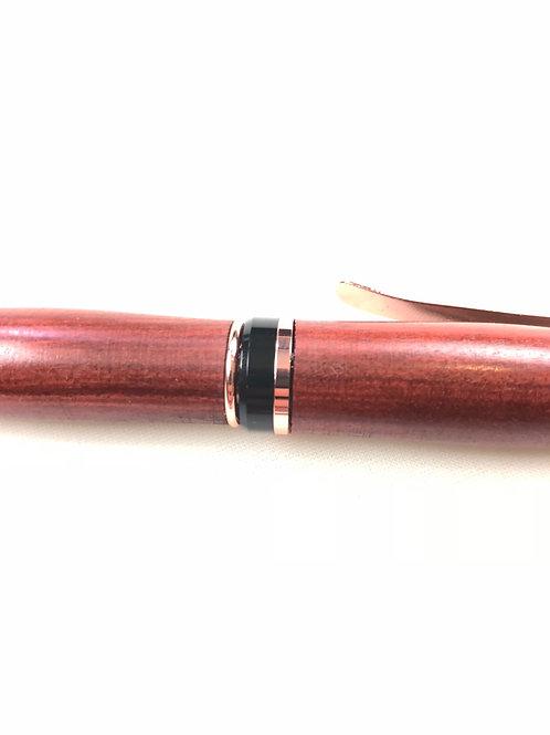 Blemished Jatoba Cigar Pen Rose Gold