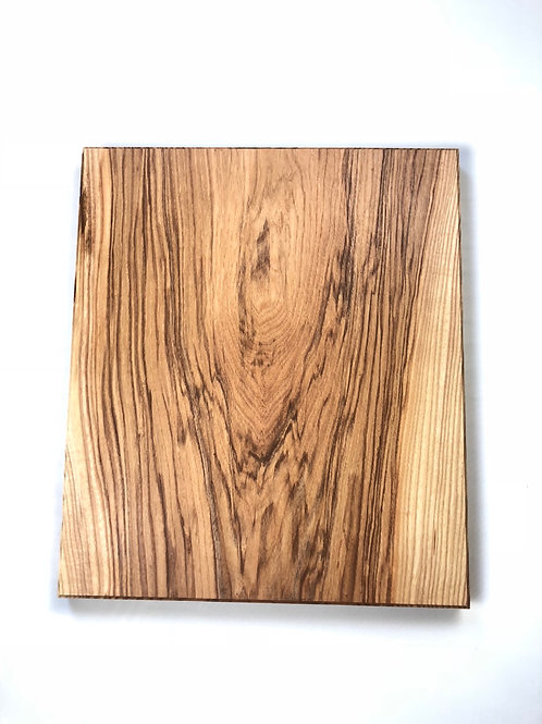 "15""x18""x 1 1/4 solid ash cutting block."