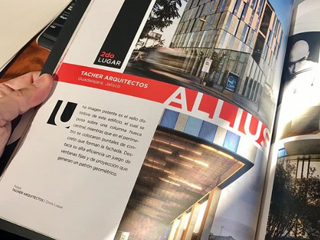 "ALLIUS WINS 2nd PLACE FOR ""BEST OFFICE BUILDING"""