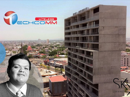 Techcomm Wireless and Lincoln Capital land 3-year commercial lease in Sky Lafayette building in GDL