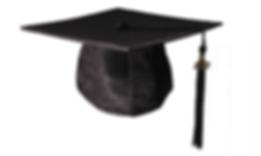chapeau diplomé américain