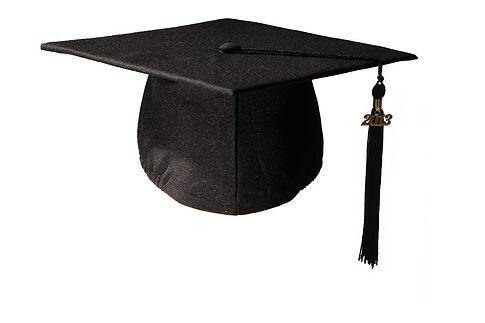 chapeau remise de diplome mate