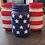 Thumbnail: American Flag Mason Jars