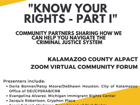 Know Your Rights - Part 1
