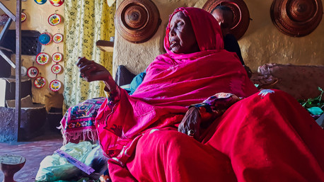 A Murid's Wisdom - Ayach Ai Abida, Harar, Ethiopia
