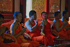 Monks - Chiang Mai, Thailand