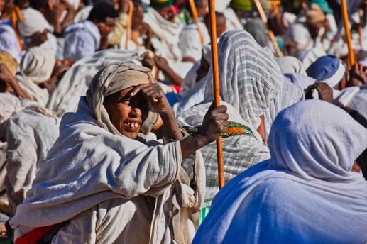 Sunny Prayers - Lalibela, Ethiopia