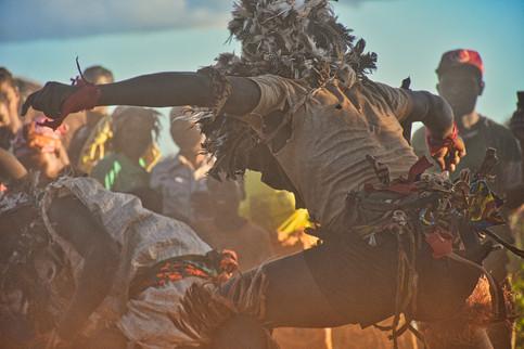 Nyau Dancer - Ketete District, Zambia