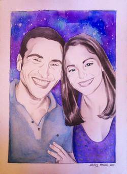 Derek and Melissa