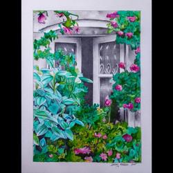 Floral Window