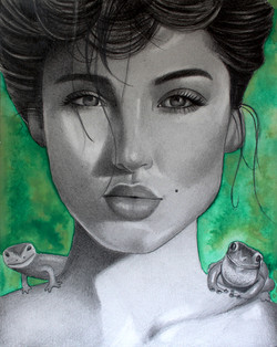 """The Frog 8""""x10"""""""