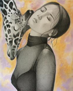 "The Giraffe 8""x10"""
