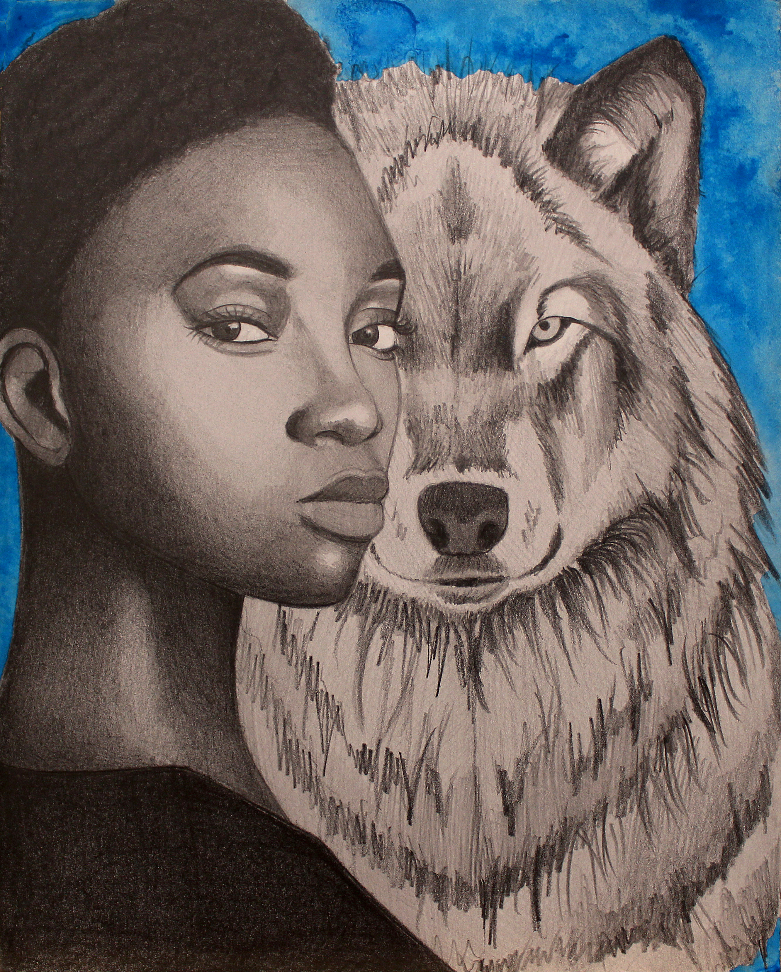 """The Wolf 8""""x10"""""""