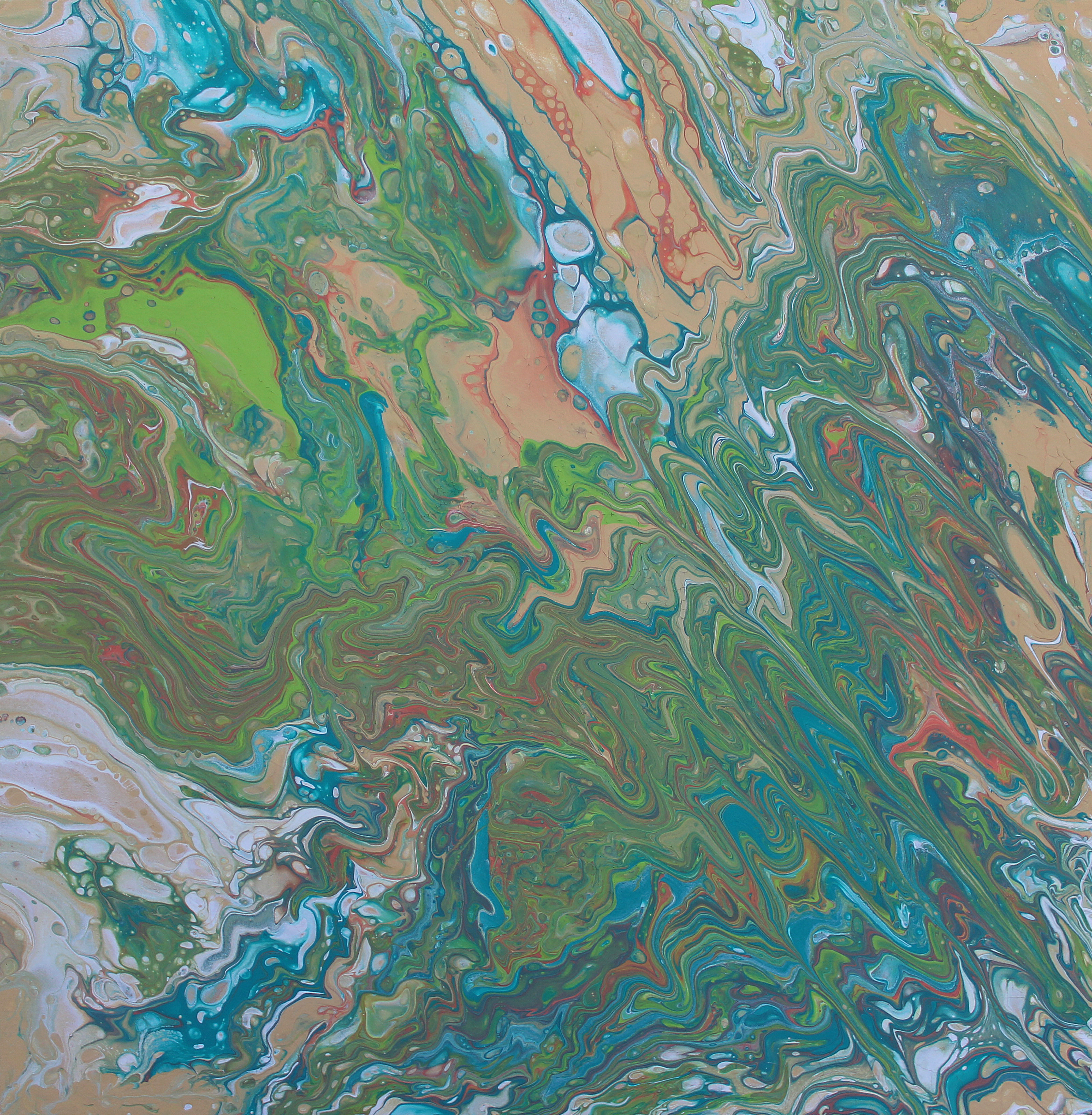 """Ebb and Flow 24""""x24"""""""