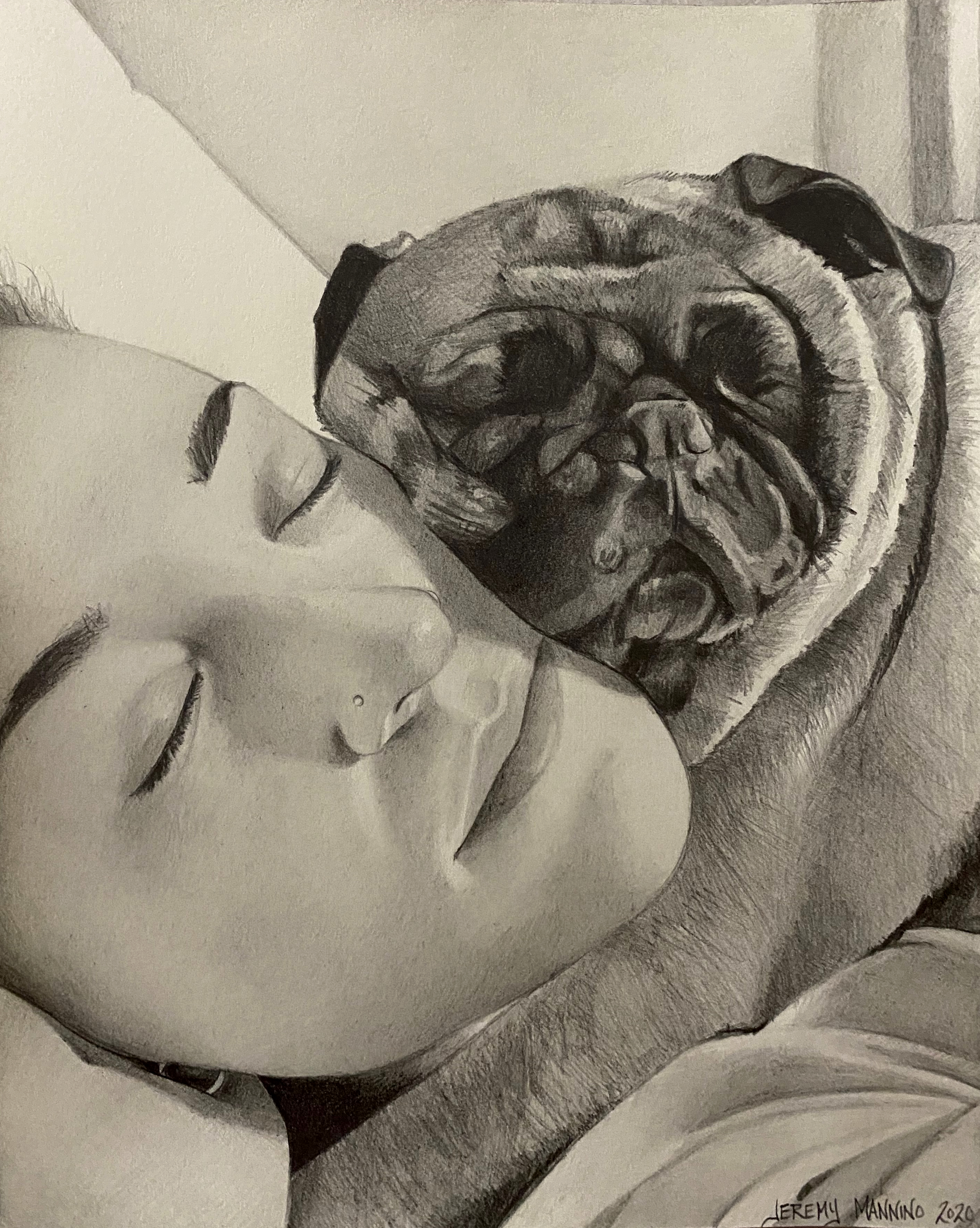 Portrait-Kelly and Chewy