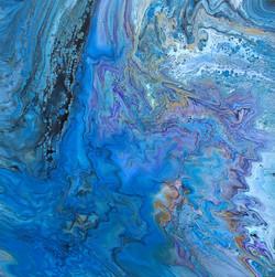"""Deep Sea Solitude 20""""x20"""""""