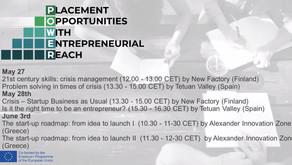 6 online sessions, more than 100 participants