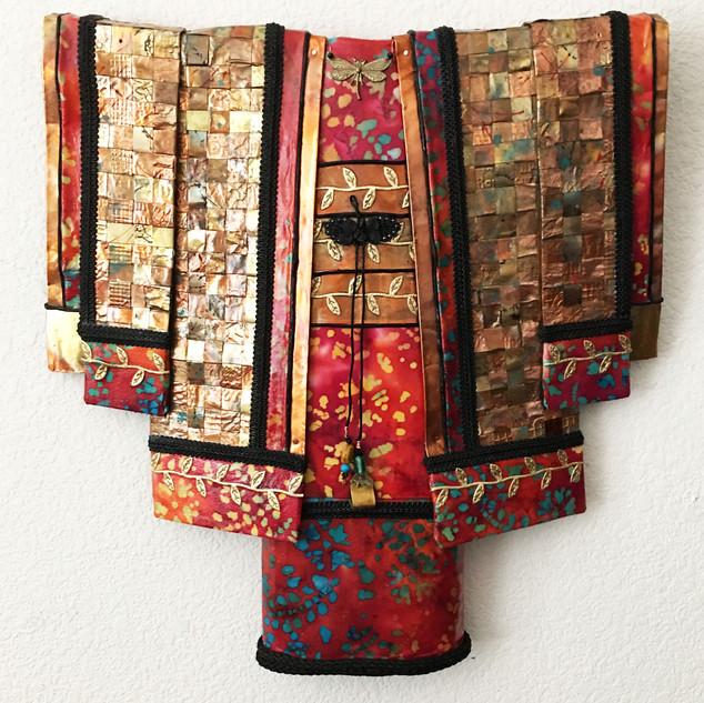#13 Dance of the Dragonfly Earth Kimono Seri