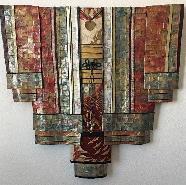 Flight of the Cranes #2 Earth Kimono Series