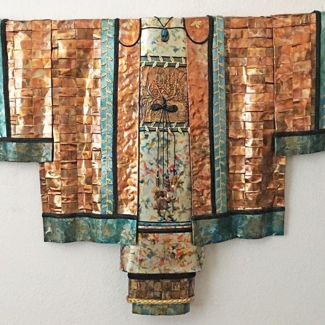 """Summertime"" #5 Earth Kimono Series"