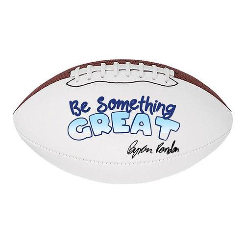 Custom BSG Autographed Football