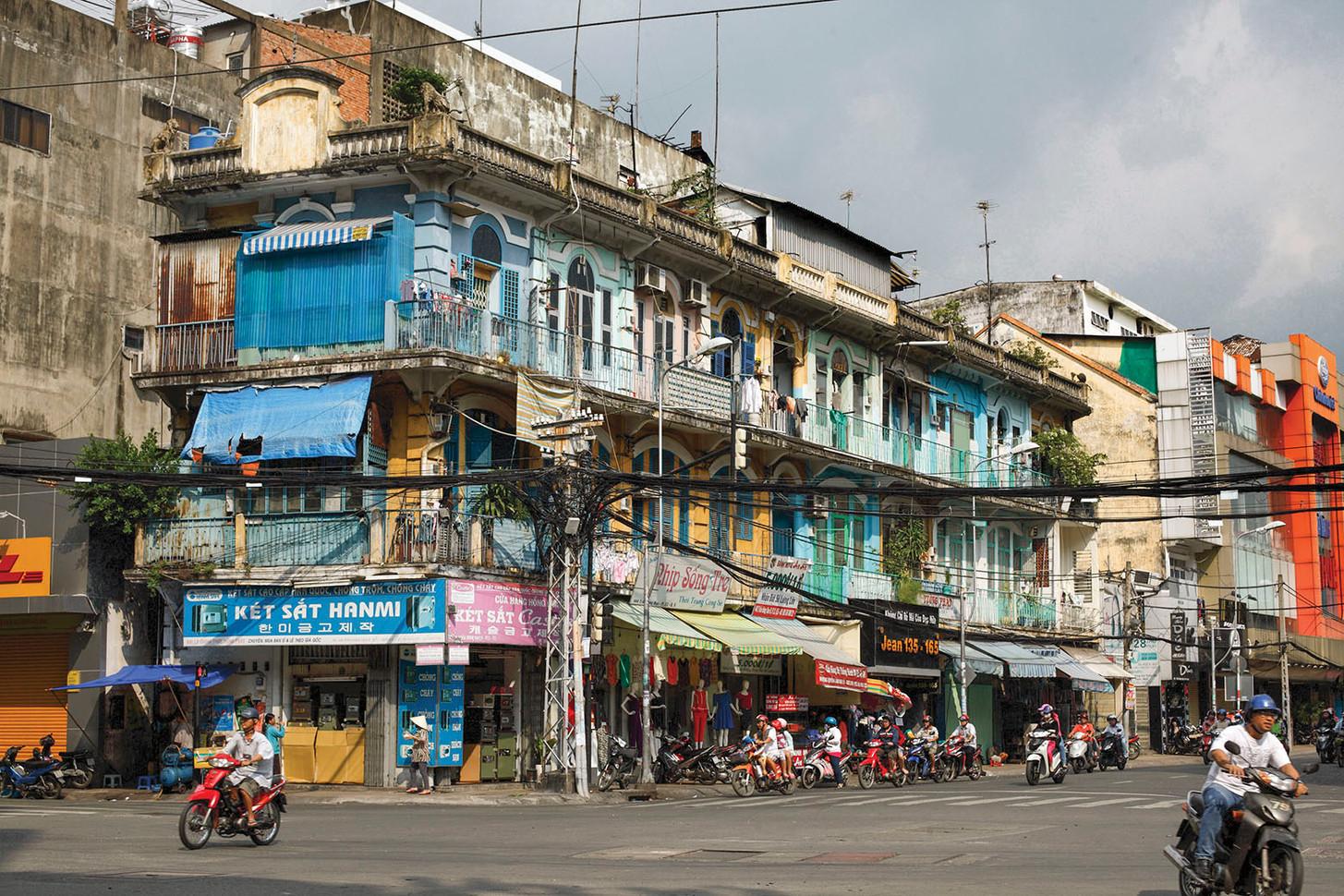 Within Saigon's Chinatown