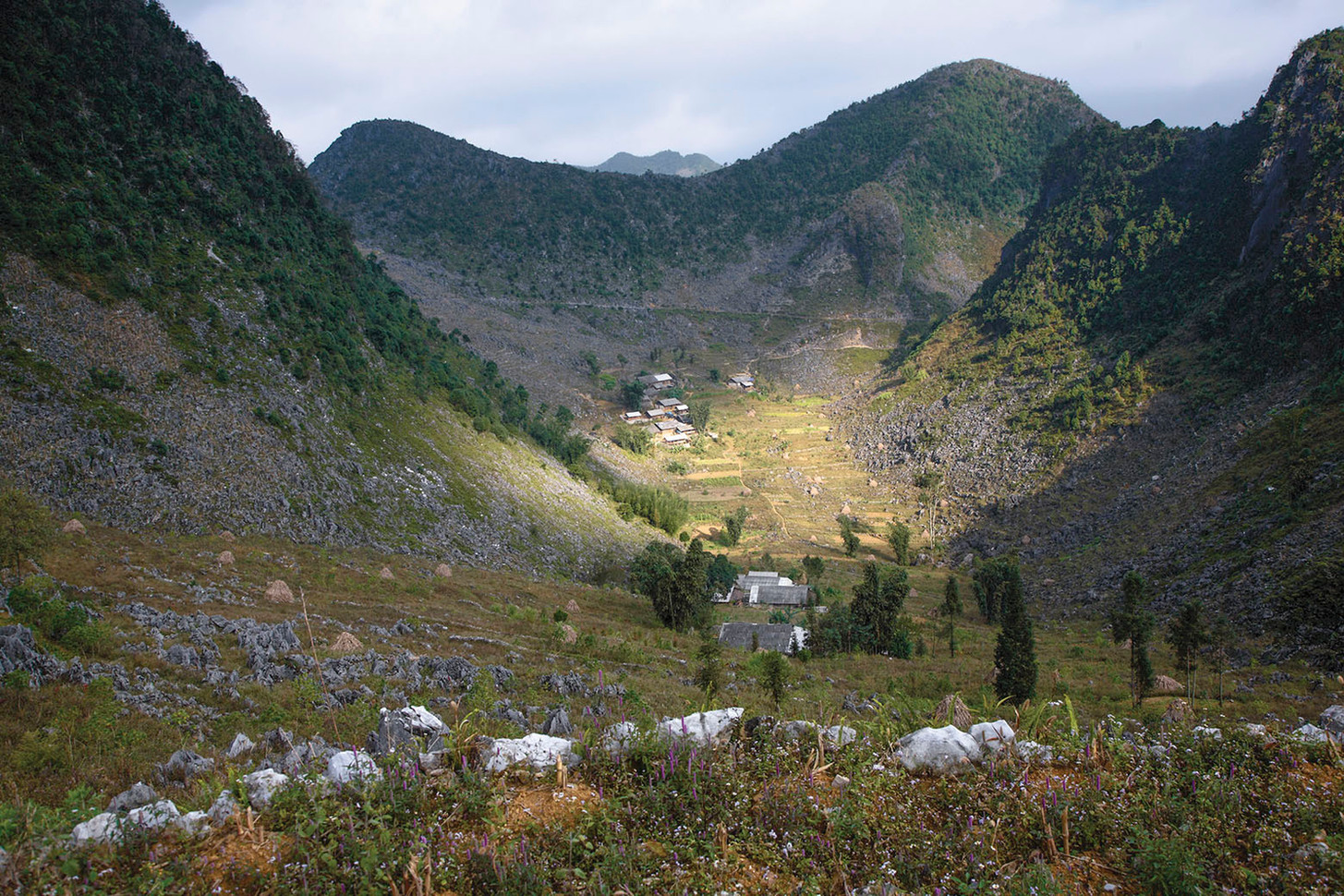 Nestled Village