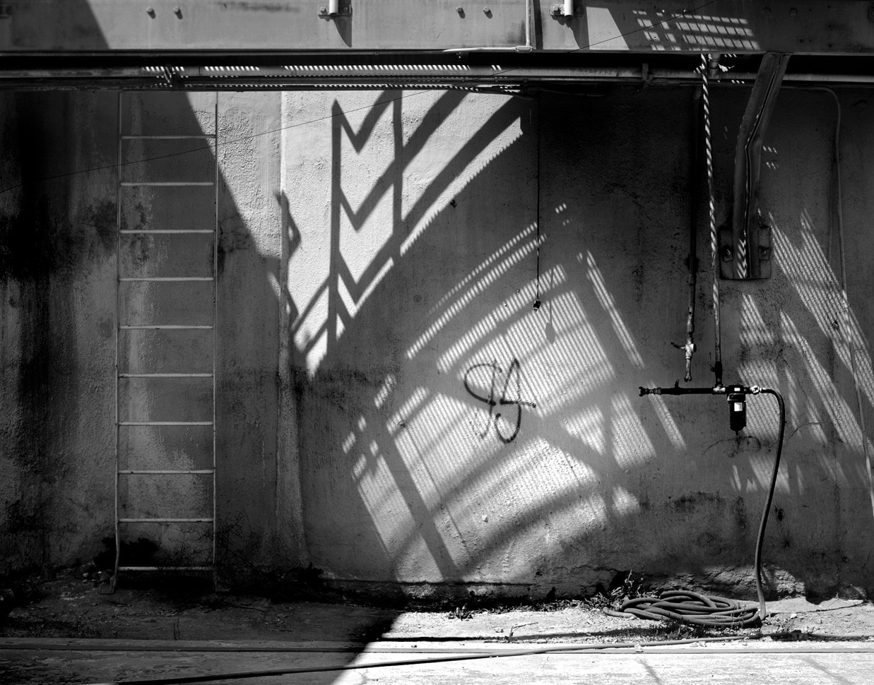Cement Silo Shadow B