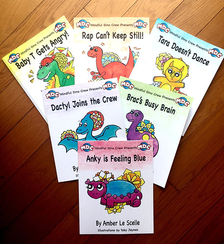 The Mindful Dino Crew Pack