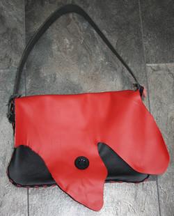 Tasche rot-schwarz