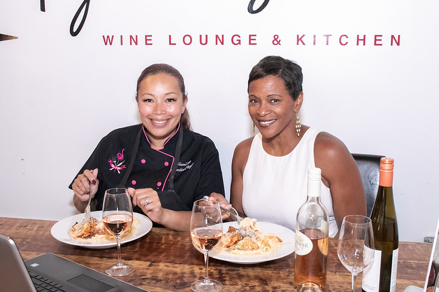 Chef and The Vine - Leilani Baugh and Pa