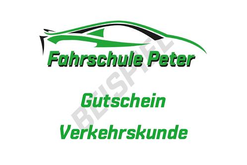 50.- CHF Verkehrskunde Gutschein.
