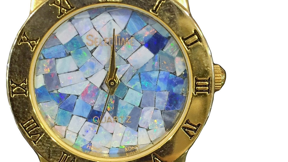 Marble Quartz Watch