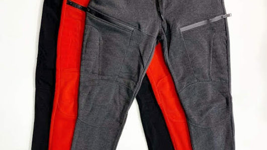 Sweat Pants with Zipper