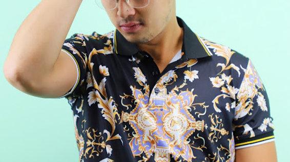 Collar Button-up Shirt [T-170]