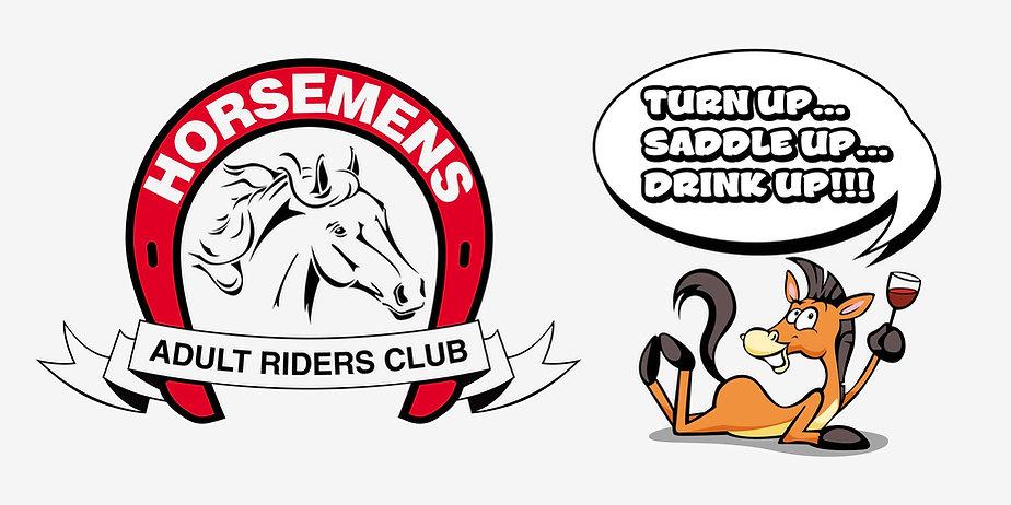 Horsemans Adult Riders.Motto.smaller fil