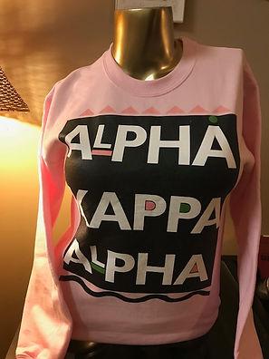 Alpha Kappa Alpha sweatshirt