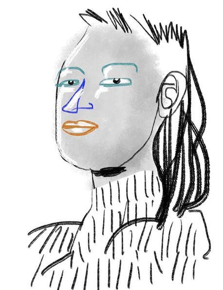 portrait smoky