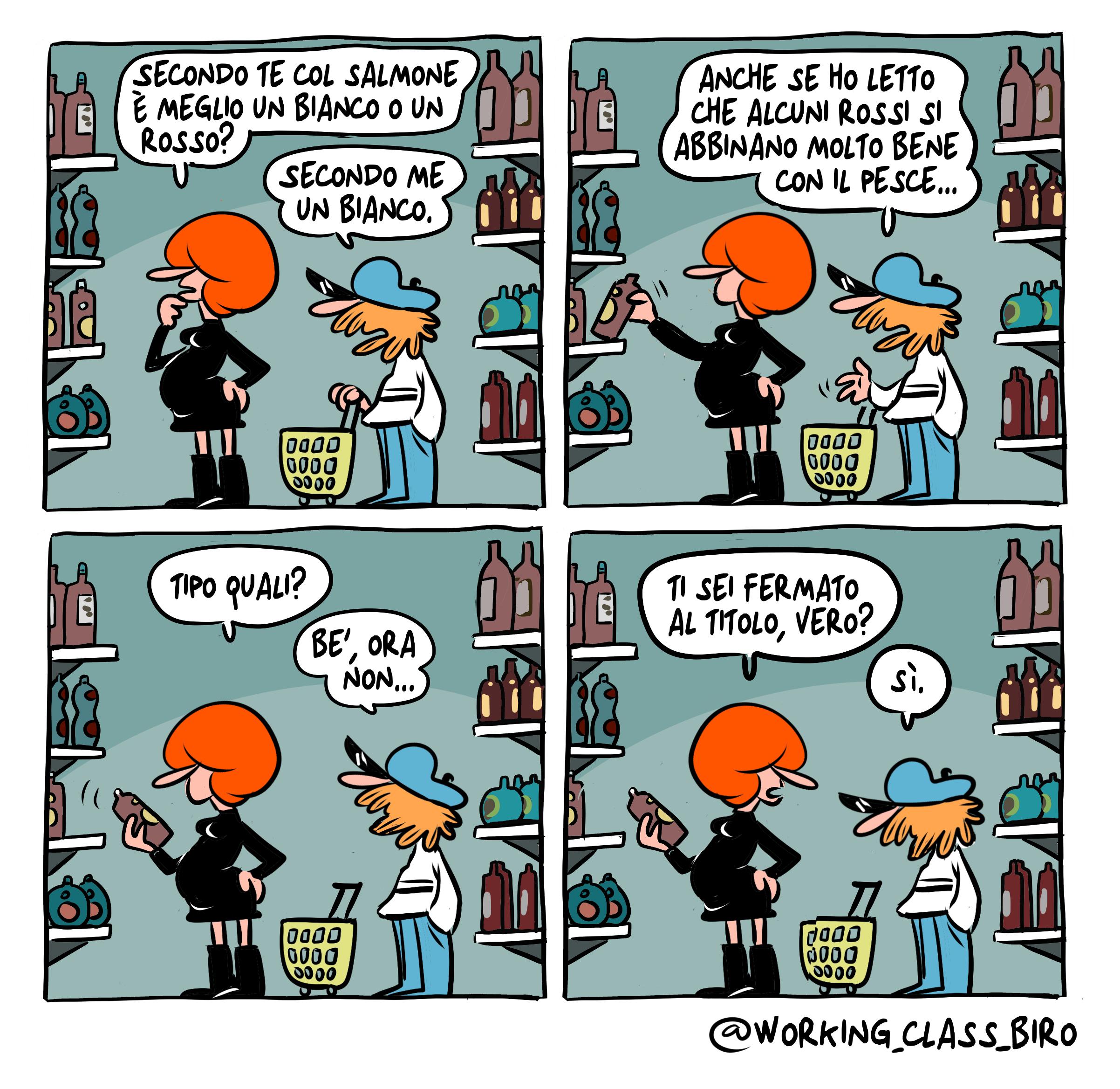 BIANCO O ROSSO