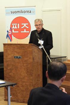 Tanska-Korea-seuran puheenjohtaja Anders Christensen