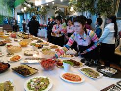Korealaisia pöydän antimia
