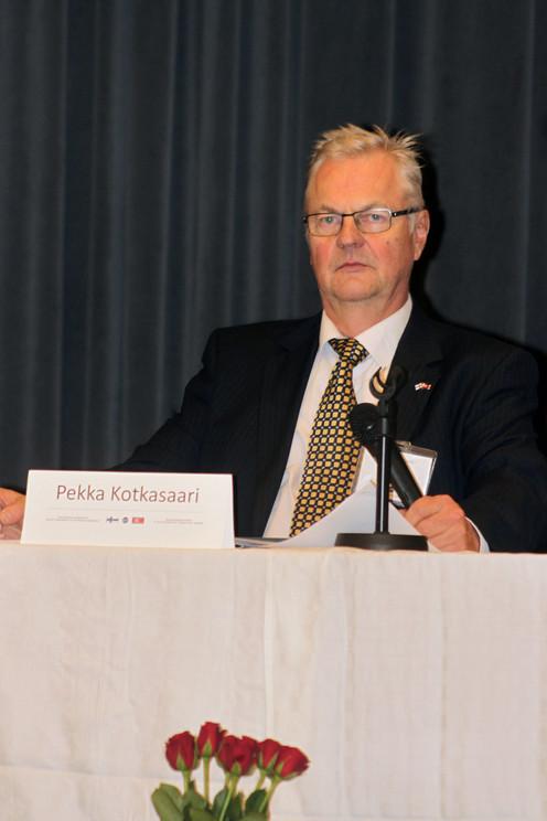 Suomi-Korea-seuran puheenjohtaja Pekka Kotkasaari