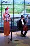 Mongolialaisia kansanmusiikki- ja tanssiesityksiä