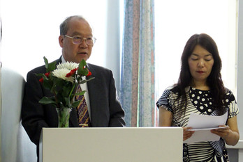 Kenichi Ogami, Japani, kansainvälisen juche-instituutin puheenjohtaja