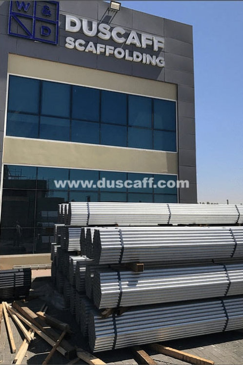 Galvanized Scaffold Tube | 4mm thick | 2.5 meters long | EN 39